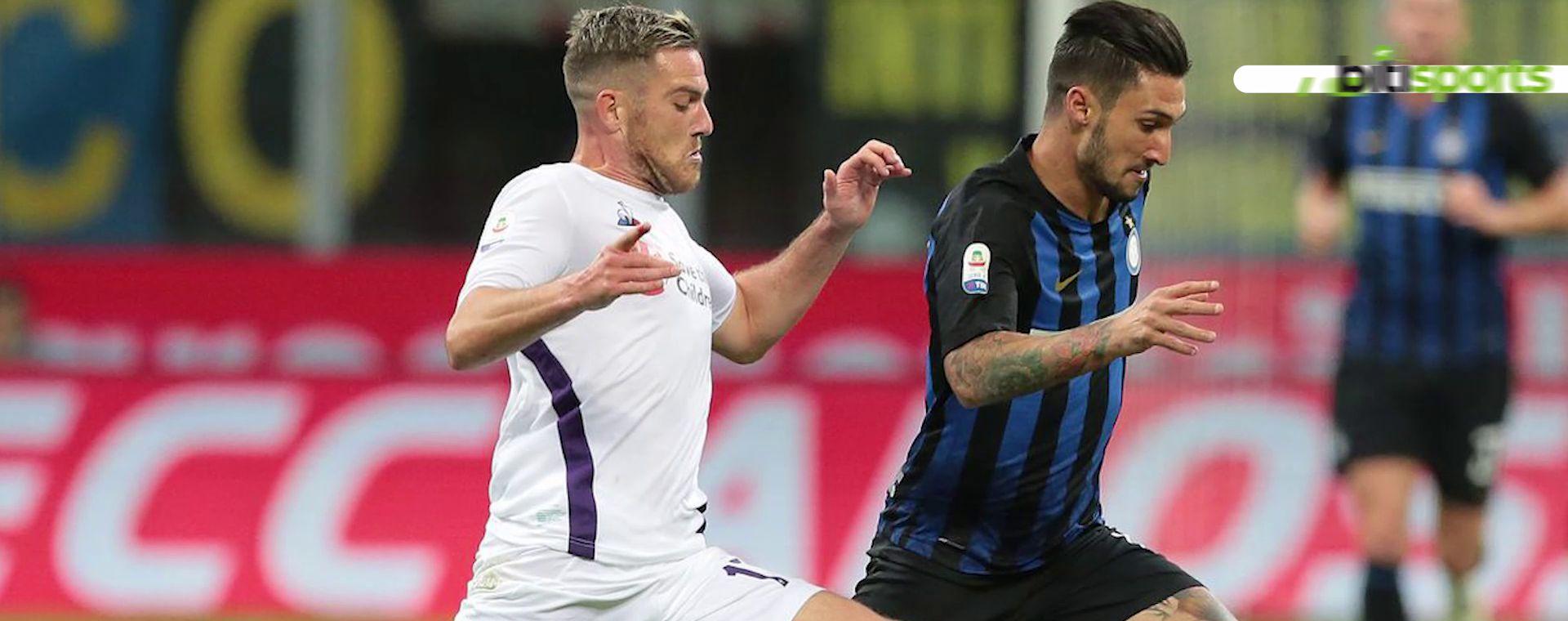 Inter travel to Fiorentina