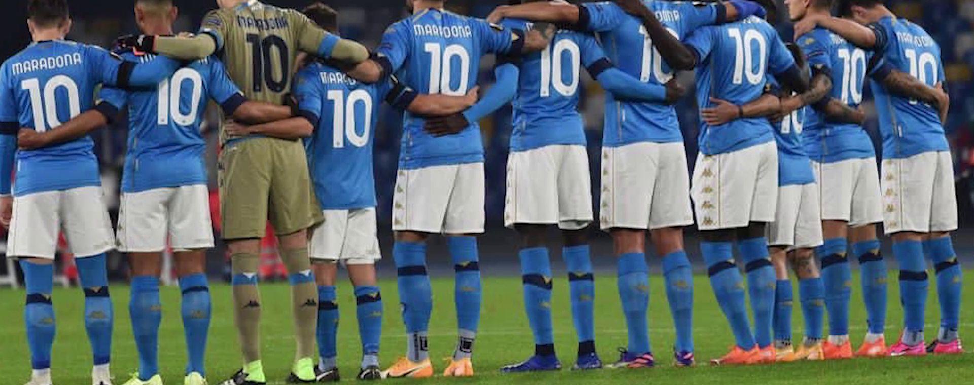 Napoli pays homage