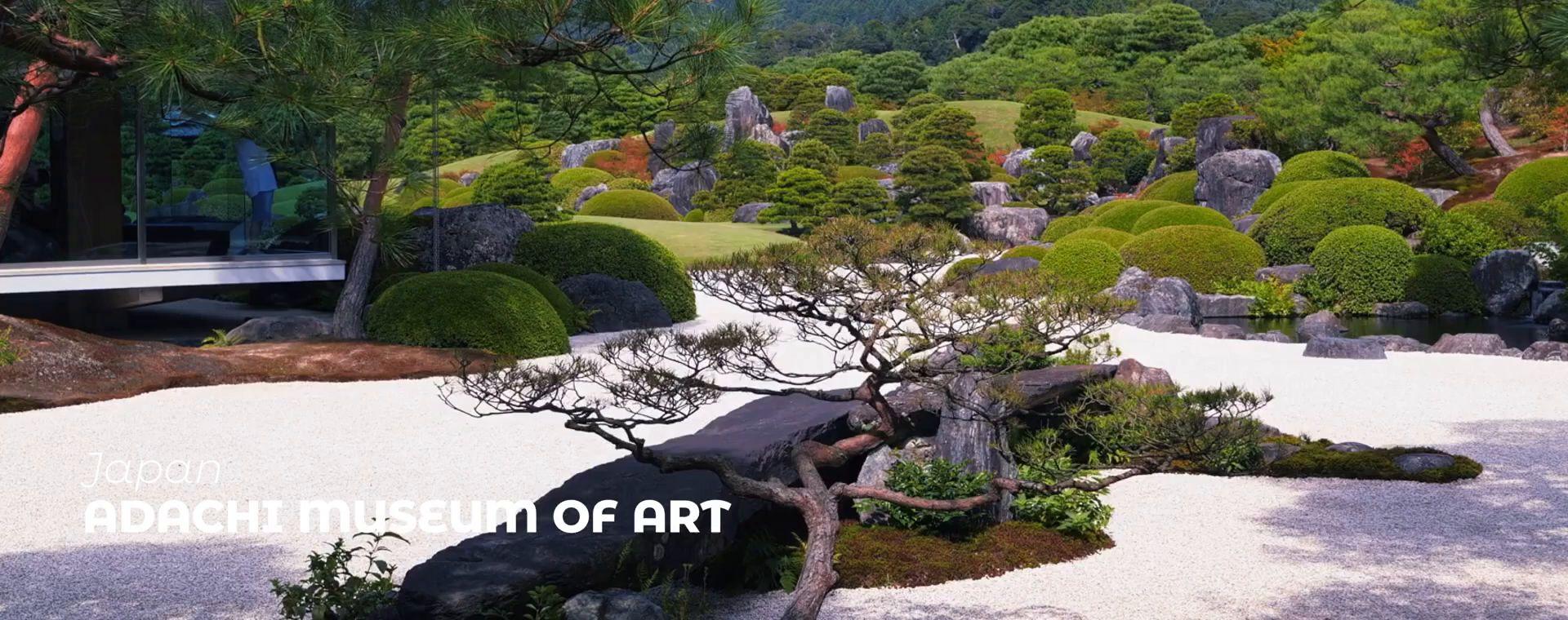 THE ADACHI MUSEUM OF ART