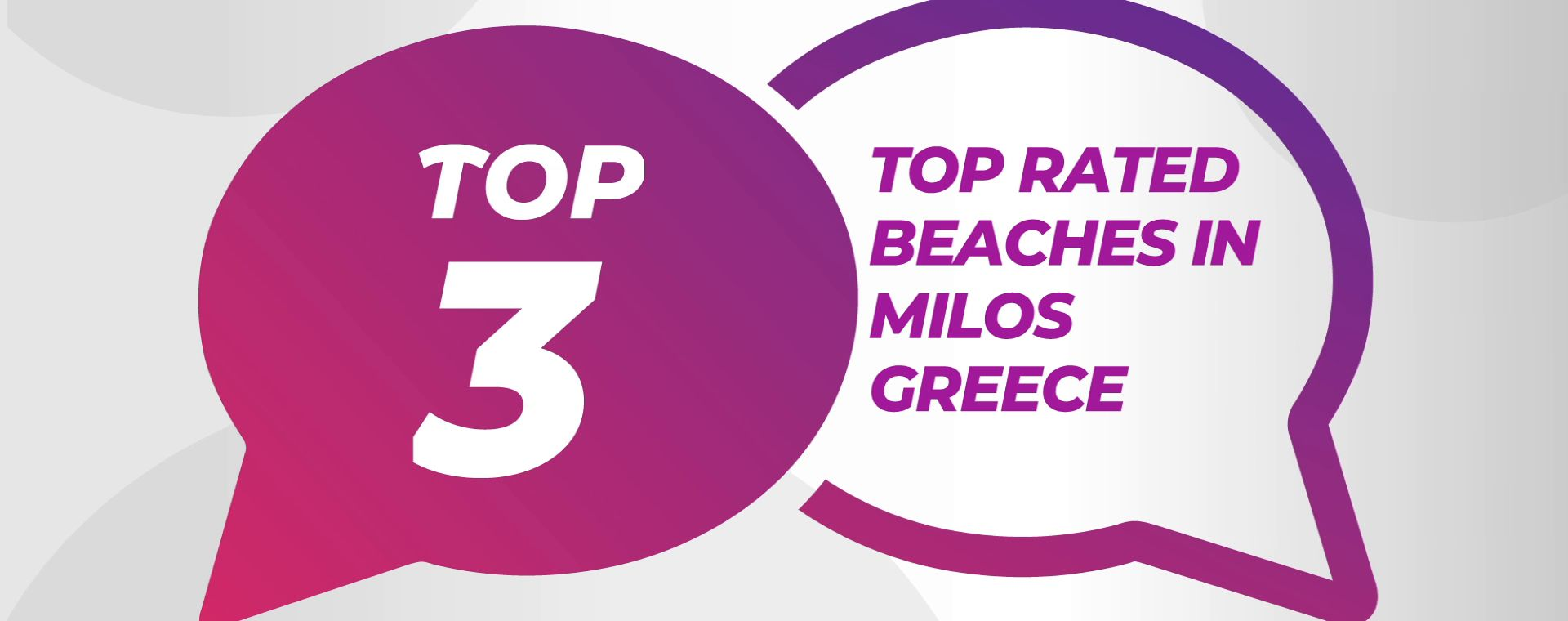 TOP RATED BEACHES IN MILOS