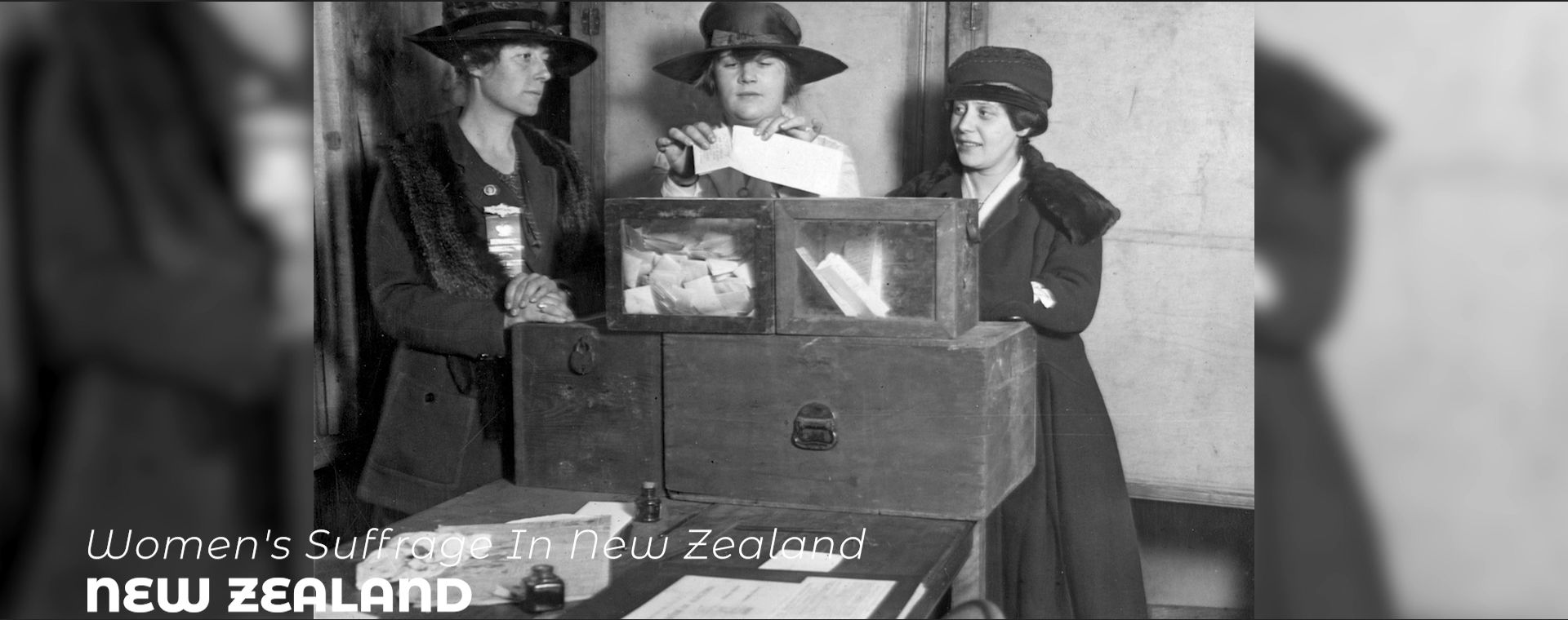 WOMEN'S SUFFRAGE IN NEW ZEALAND