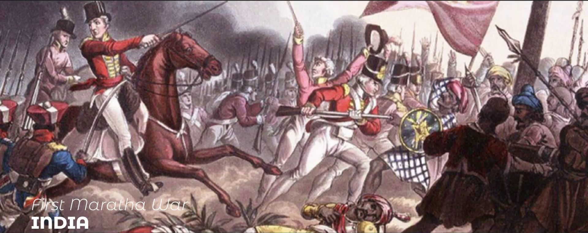 FIRST MARATHA WAR