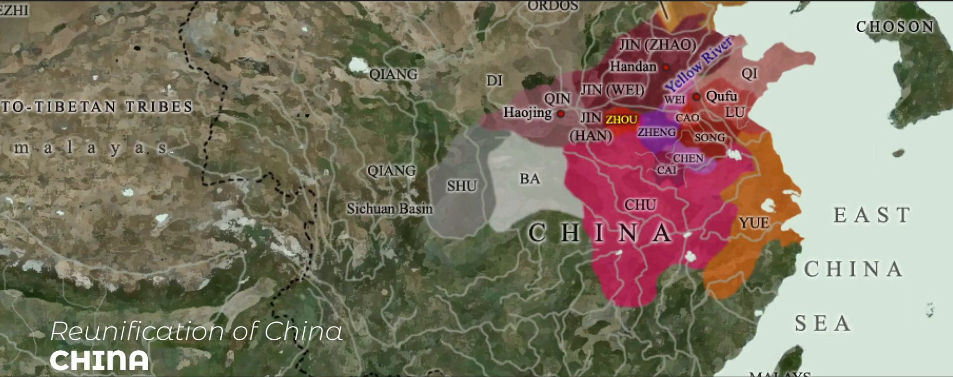 REUNIFICATION OF CHINA