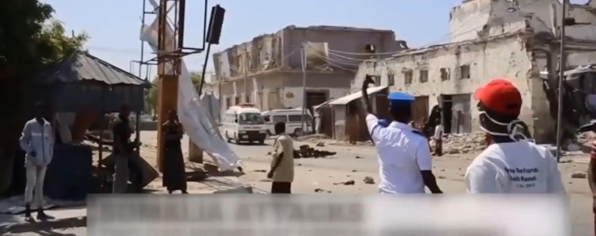 Bombing attack in Somalia