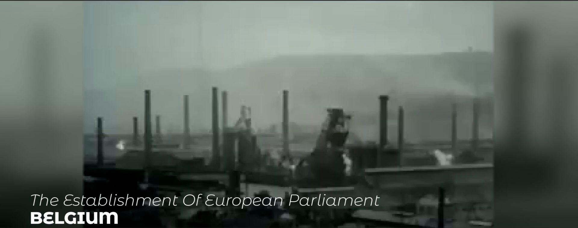 THE ESTABLISHMENT OF EUROPEAN PARLIAMENT