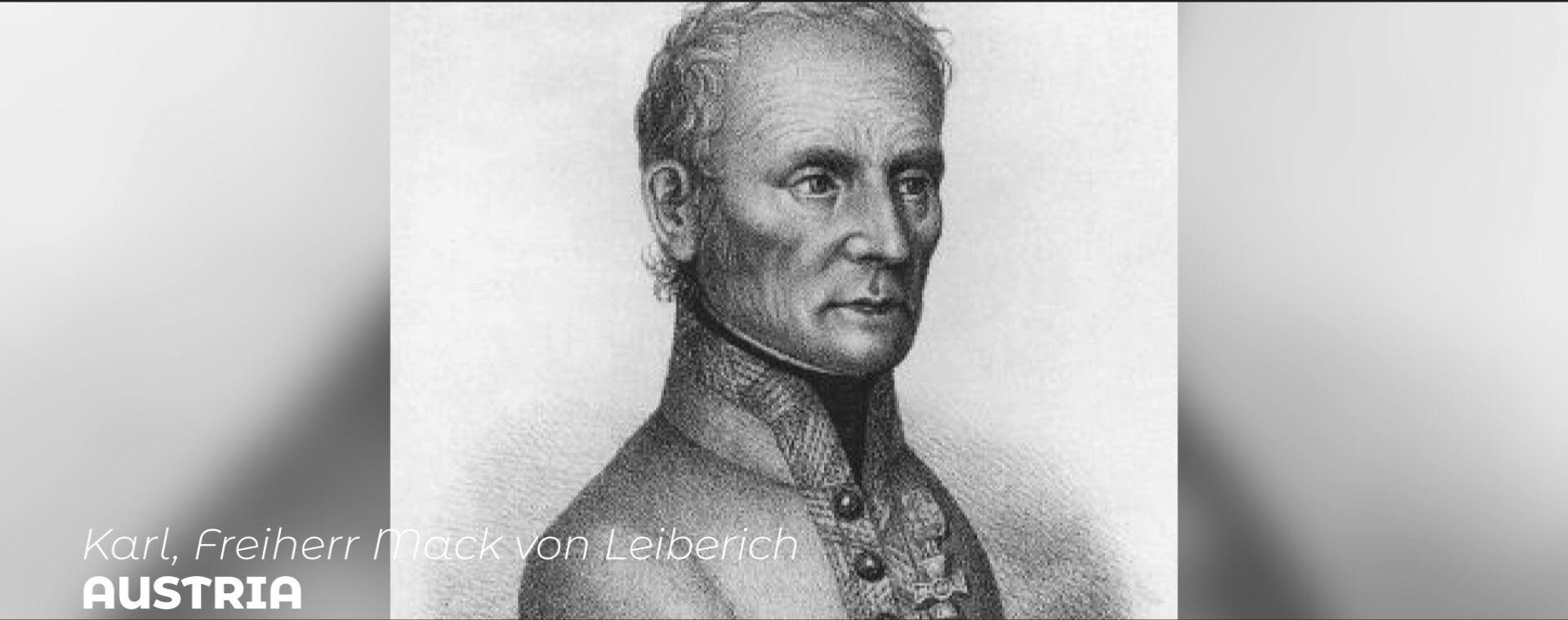 KARL, FREIHERR MACK VON LEIBERICH