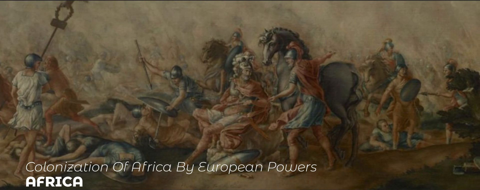 COLONIZATION OF AFRICA BY EUROPEAN POWERS