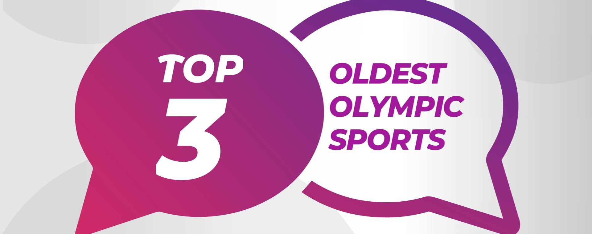 OLDEST OLYMPIC SPORTS