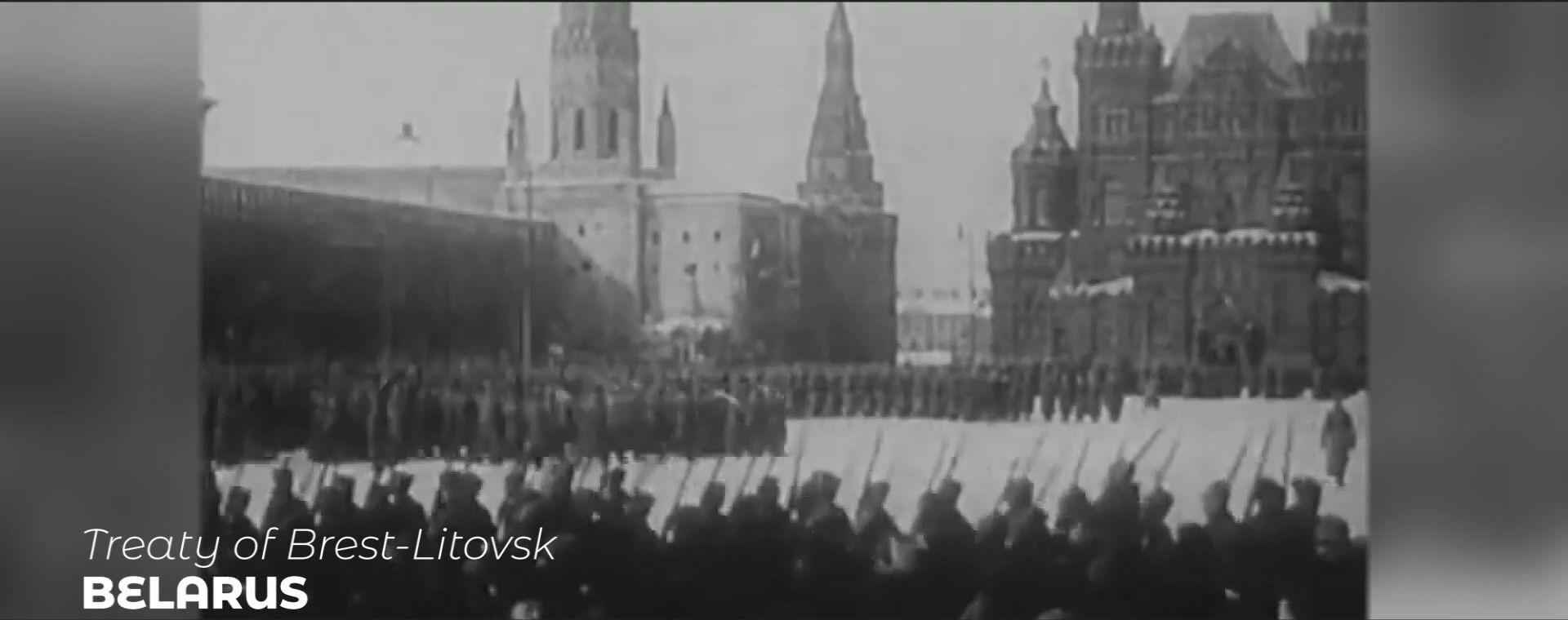 TREATY OF BRESTLITOVSK
