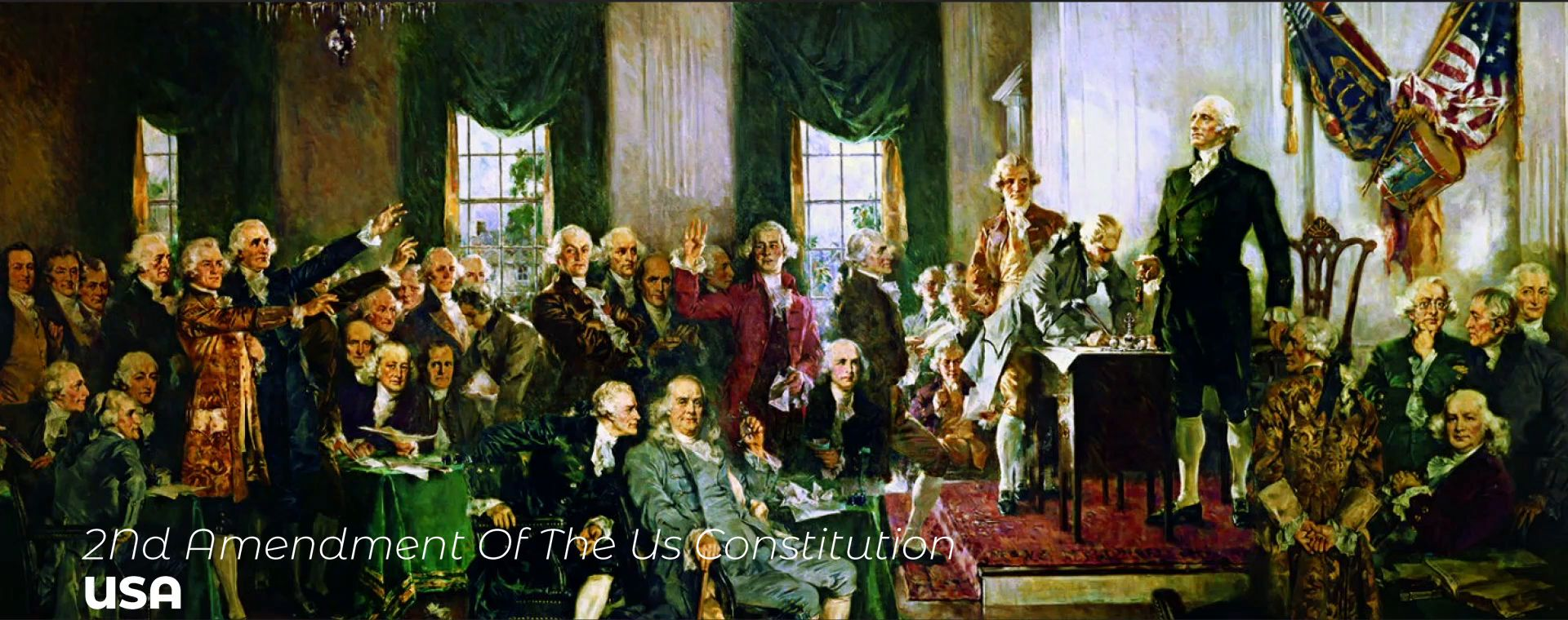 2ND AMENDMENT OF THE US CONSTITUTION