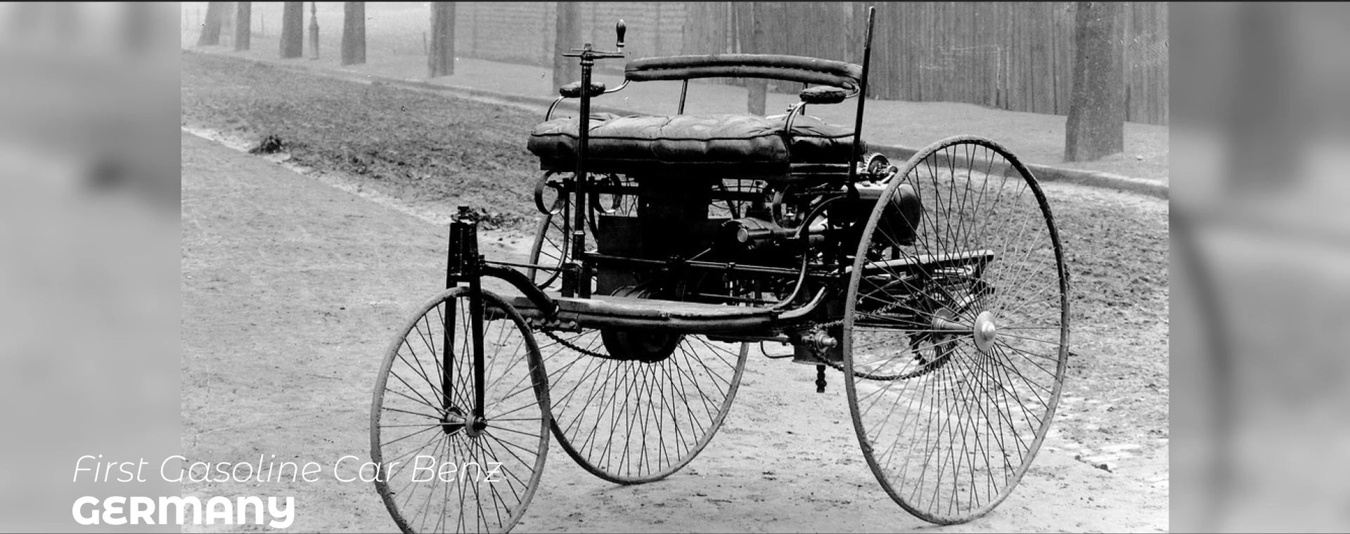 FIRST CASOLINE CAR BENZ