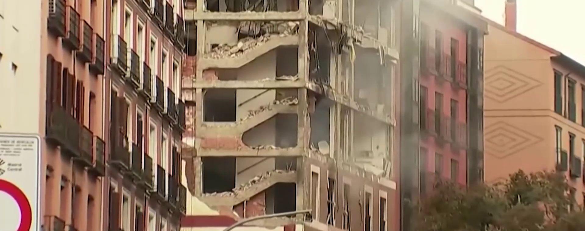 Blast in Madrid