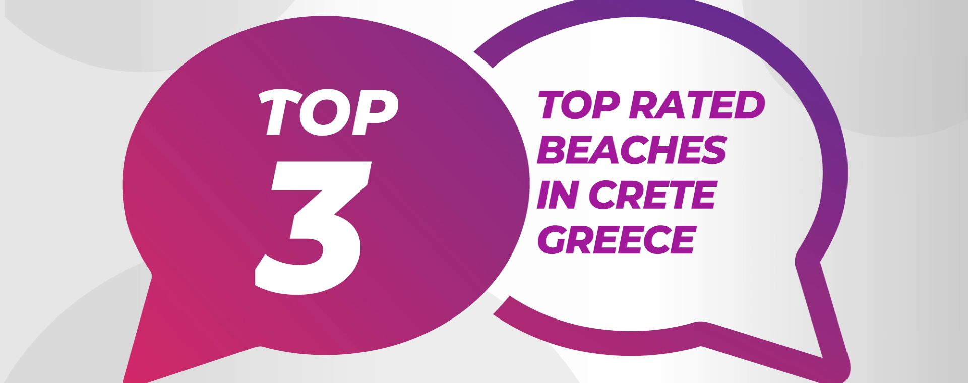 TOP RATED BEACHES IN CRETE