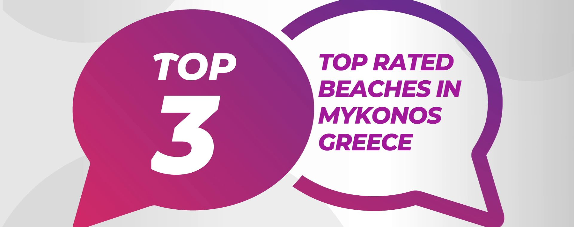 TOP RATED BEACHES IN MYKONOS