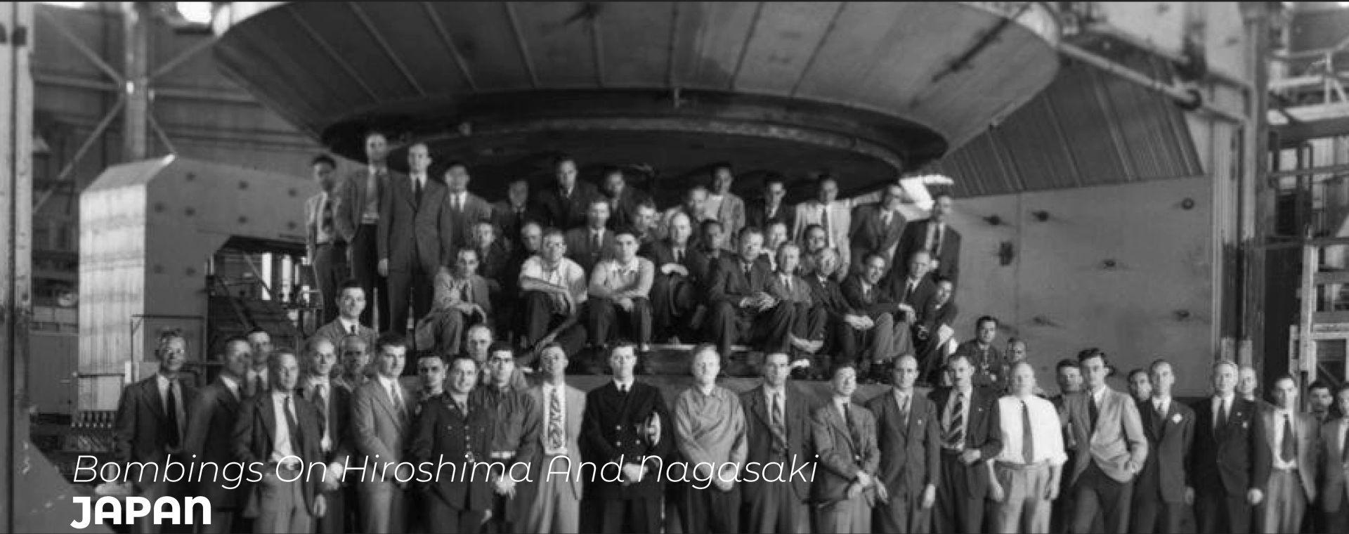 BOMBINGS ON HIROSHIMA AND NAGASAKI